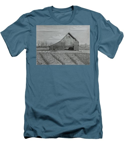 Theresa's Barn Men's T-Shirt (Athletic Fit)