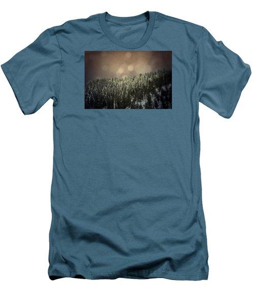 Third Breath  Men's T-Shirt (Slim Fit) by Mark Ross