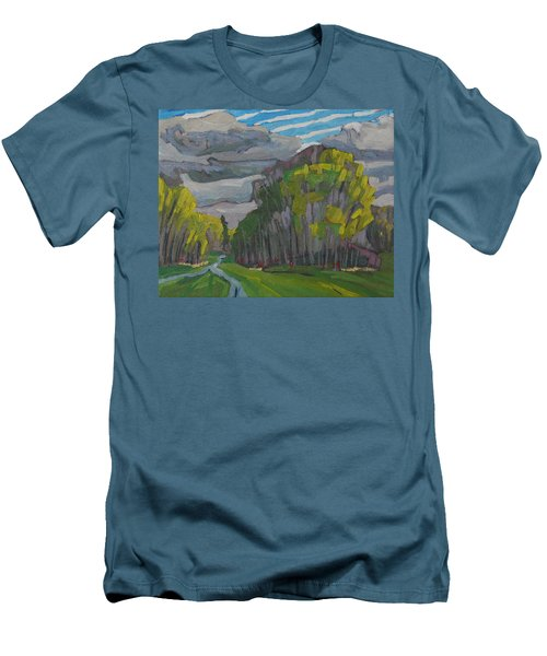 Thirty Shades Of Green Men's T-Shirt (Athletic Fit)