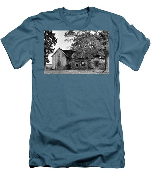 This Old House 2 Men's T-Shirt (Slim Fit) by Gary Hall