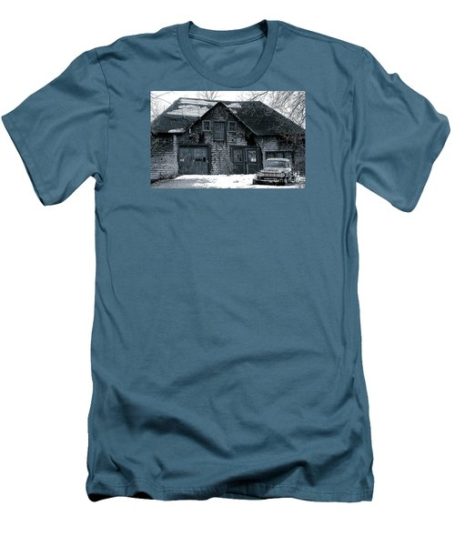 This Old House  6 Men's T-Shirt (Slim Fit) by Iris Gelbart