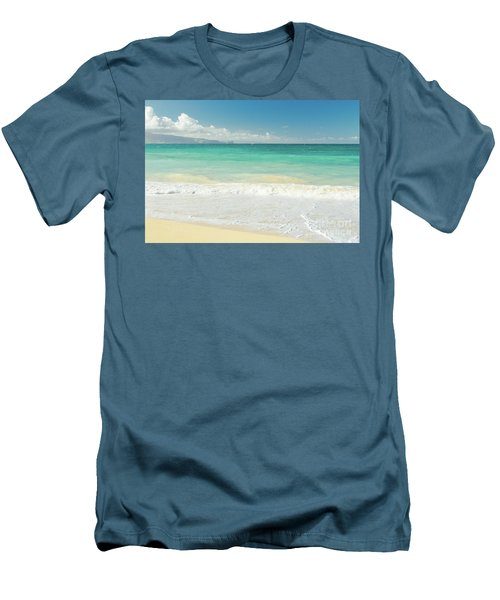 This Paradise Life Men's T-Shirt (Slim Fit) by Sharon Mau