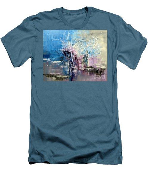 Through Morning's Light Men's T-Shirt (Athletic Fit)