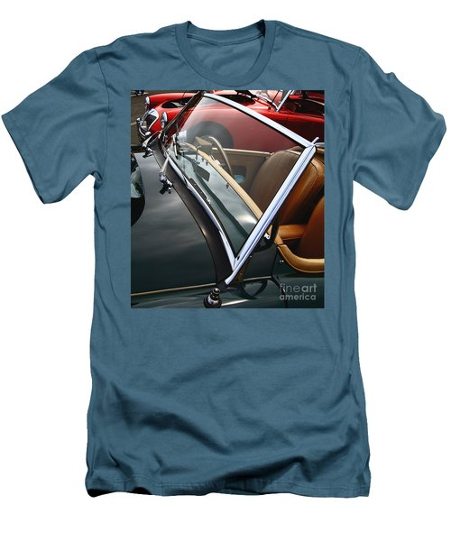Men's T-Shirt (Athletic Fit) featuring the photograph Through The Looking Glass by Stephen Mitchell