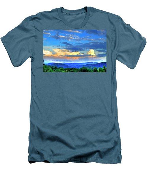 Thunderheads Men's T-Shirt (Slim Fit) by Dale R Carlson