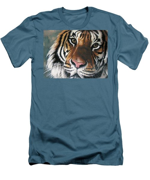 Tigger Men's T-Shirt (Slim Fit) by Barbara Keith