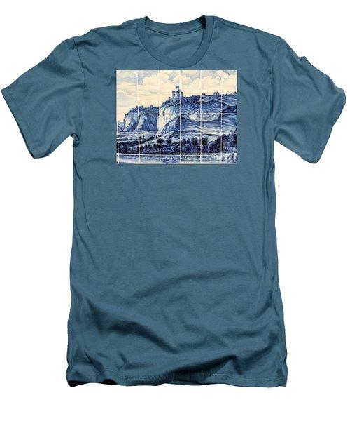 Tile Art Of African History Men's T-Shirt (Slim Fit) by John Potts