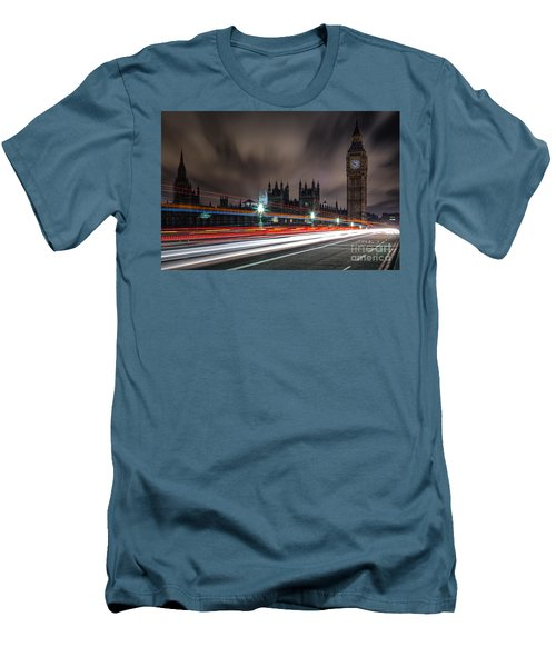 Time Men's T-Shirt (Slim Fit) by Giuseppe Torre