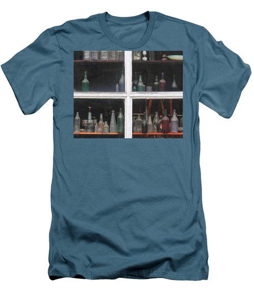 Time In A Bottle Men's T-Shirt (Athletic Fit)