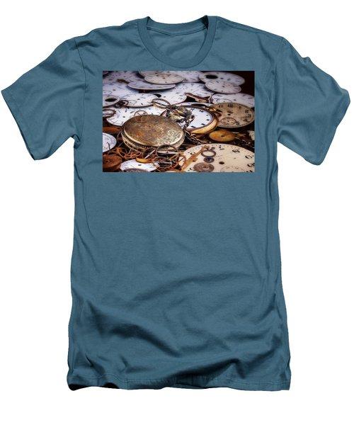 Time Pieces Men's T-Shirt (Athletic Fit)