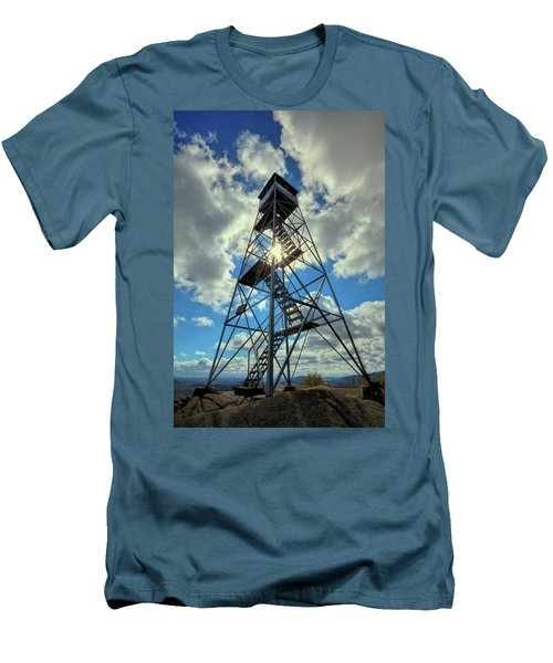 To Climb Or Not To Climb Men's T-Shirt (Slim Fit) by David Patterson