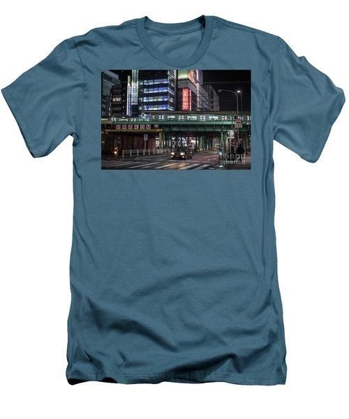 Tokyo Transportation, Japan Men's T-Shirt (Athletic Fit)