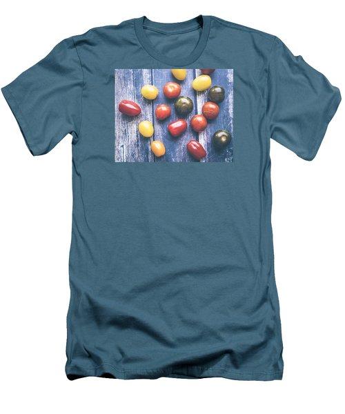Tomato Medley  Men's T-Shirt (Slim Fit) by Nicole English