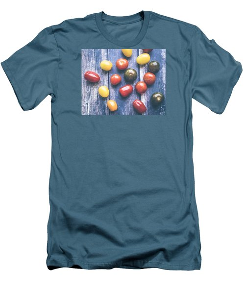 Tomato Medley  Men's T-Shirt (Slim Fit)