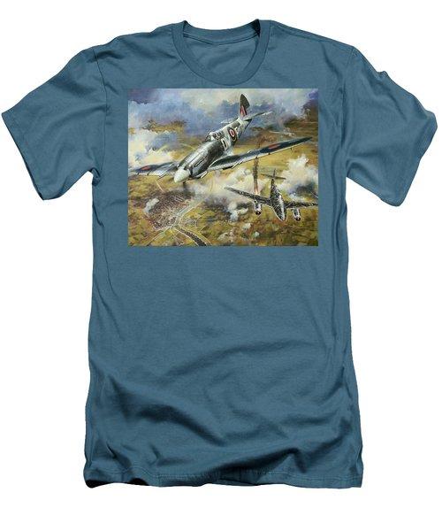 Tony Gaze, Unsung Hero Men's T-Shirt (Slim Fit) by Colin Parker