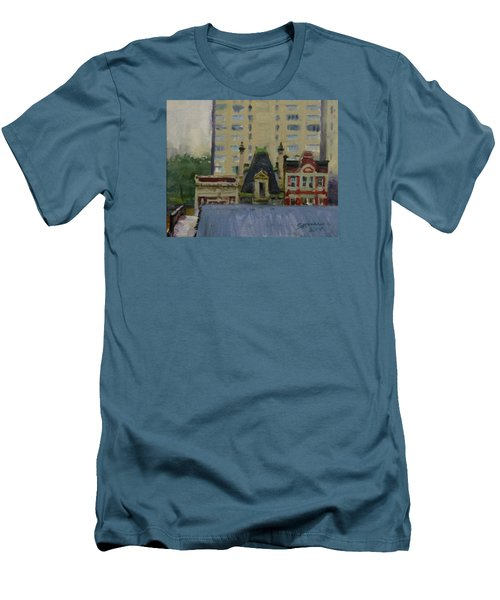 Too Wet To Paint Outdoors  Men's T-Shirt (Athletic Fit)