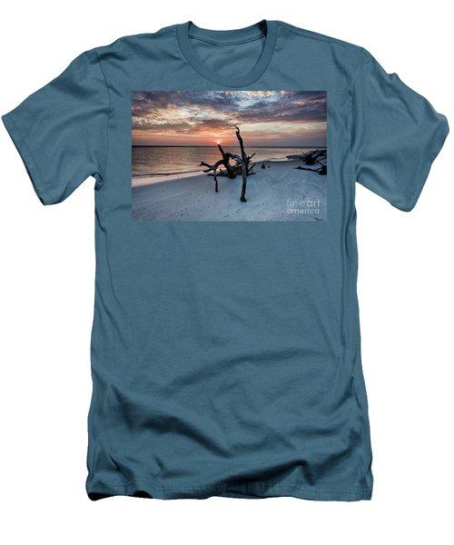 Torch Men's T-Shirt (Slim Fit) by Robert Loe