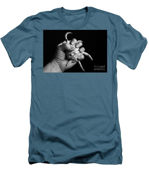 Men's T-Shirt (Slim Fit) featuring the photograph Touch Series - Shells by Nicholas Burningham