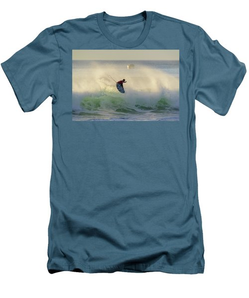 Men's T-Shirt (Slim Fit) featuring the photograph Touch The Sun by Thierry Bouriat