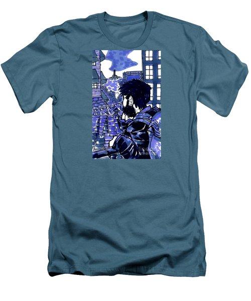 Tourist View Men's T-Shirt (Athletic Fit)