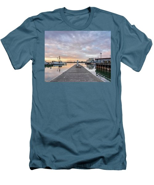 Men's T-Shirt (Slim Fit) featuring the photograph Toward The Dusk by Greg Nyquist