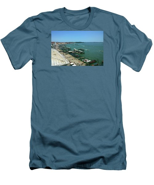 Men's T-Shirt (Athletic Fit) featuring the photograph Towards Giardino by Anne Kotan