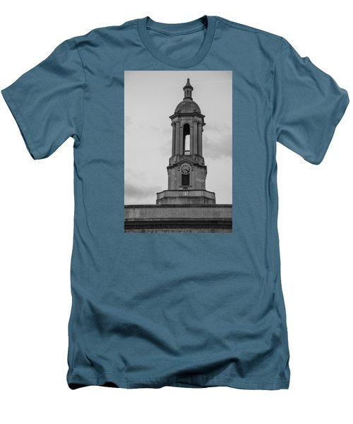 Tower At Old Main Penn State Men's T-Shirt (Slim Fit) by John McGraw