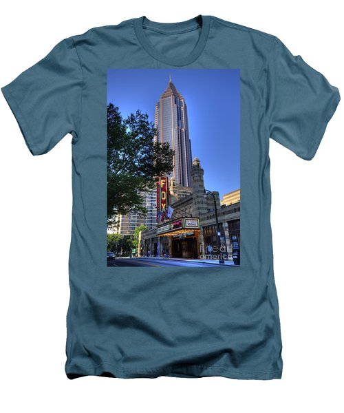 Towering Over The Fox Men's T-Shirt (Athletic Fit)