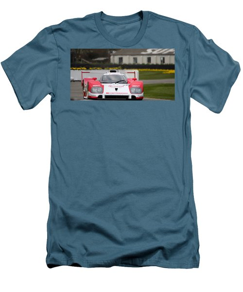 Toyota Ts010  Men's T-Shirt (Athletic Fit)