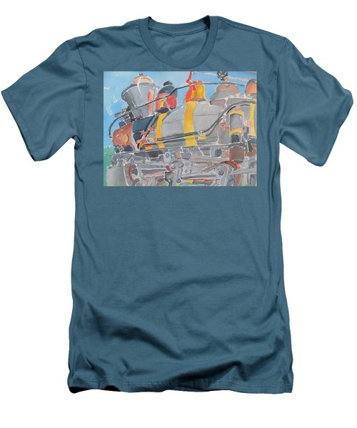 Train Engine Men's T-Shirt (Athletic Fit)