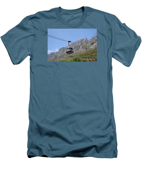 Tramway To Cable Mountain Men's T-Shirt (Athletic Fit)