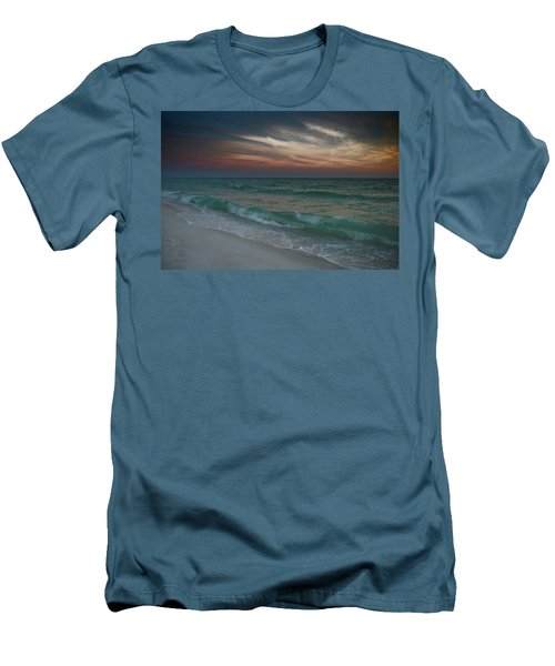 Men's T-Shirt (Slim Fit) featuring the photograph Tranquil Evening by Renee Hardison