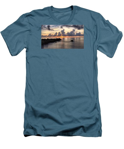 Tranquil Waters Men's T-Shirt (Slim Fit)