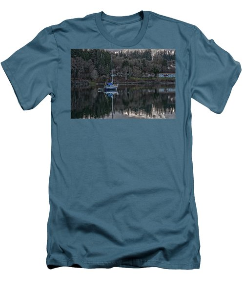 Tranquility 9 Men's T-Shirt (Slim Fit) by Timothy Latta