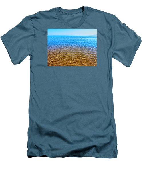 Men's T-Shirt (Slim Fit) featuring the photograph Tranquility by Kathleen Sartoris