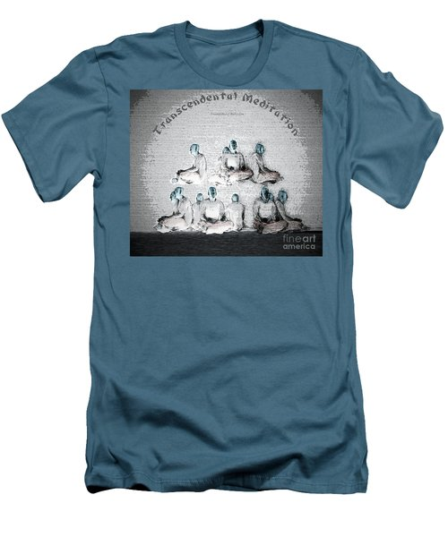 Transcendental Meditation Men's T-Shirt (Athletic Fit)