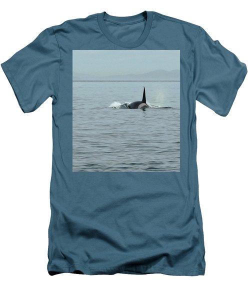 Transient Killer Whale Men's T-Shirt (Slim Fit)