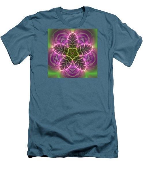 Transition Flower Men's T-Shirt (Slim Fit) by Robert Thalmeier