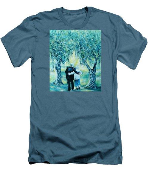 Travel Notebook.olive Groves Men's T-Shirt (Slim Fit) by Anna  Duyunova