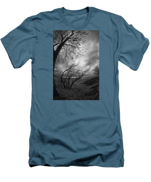 Tree 1 Men's T-Shirt (Slim Fit) by Simone Ochrym