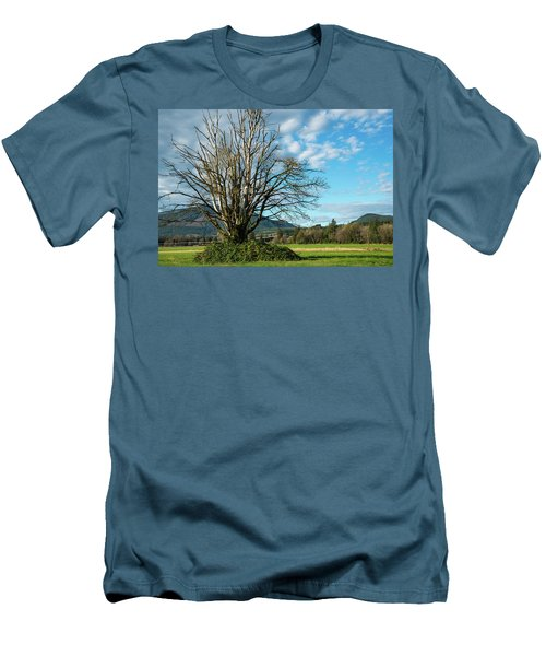 Tree And Sky Men's T-Shirt (Athletic Fit)
