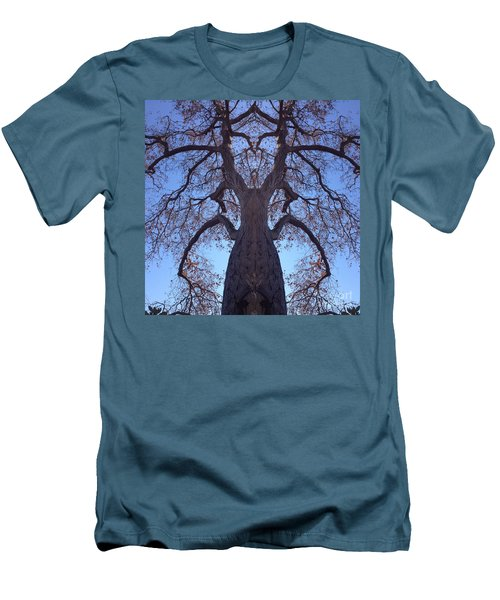 Men's T-Shirt (Slim Fit) featuring the photograph Tree Creature by Nora Boghossian