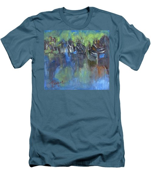 Tree Imagery Men's T-Shirt (Athletic Fit)