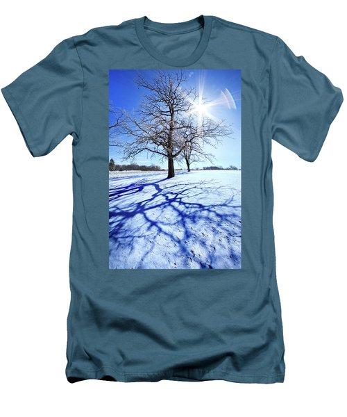 Men's T-Shirt (Slim Fit) featuring the photograph Tree Light by Phil Koch