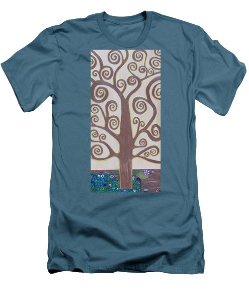 Tree Of Life Men's T-Shirt (Slim Fit) by Angelina Vick