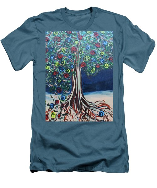 Tree Of Life - Summer Men's T-Shirt (Athletic Fit)