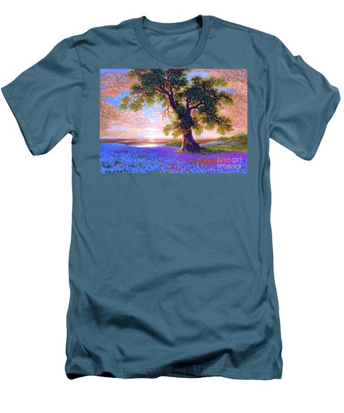 Tree Of Tranquillity Men's T-Shirt (Athletic Fit)