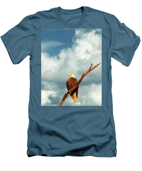 Tree Top Eagle  Men's T-Shirt (Athletic Fit)