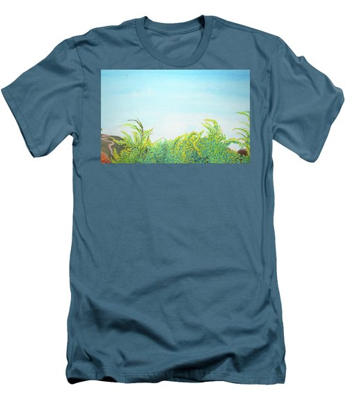 Tree Tops Men's T-Shirt (Slim Fit) by Mary Ellen Frazee