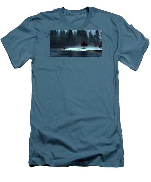 Trees On Point Men's T-Shirt (Athletic Fit)